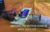 Detector de movimiento PIR de ARDUINO con 16 X 2 LCD