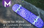 Cómo hacer un Custom impreso vinilo Skate