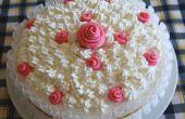 La torta de cumple de microondas