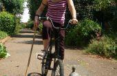 Bicicleta Fixie de Polo en una tarde.