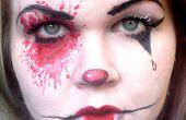 American Horror Story Freakshow maquillaje transformación
