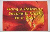 Colgar una pintura segura, Ras y nivel