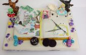 Alicia en el país de las maravillas libro torta