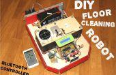 Piso CleanBOT - su DIY robot de limpieza