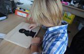 Laptop de madera para niños