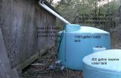 Sistema de agua de cisterna de agua de lluvia de toda la casa
