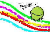 Cose tu propio sentido microbio peluche