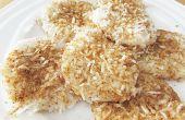 Pasteles de arroz de coco / Palitaw