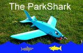 El gran azul del aeroplano RC ParkShark