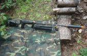 ¿La bestia-que da vuelta un Paintball pistola en un Sniper Rifle de Airsoft