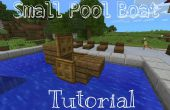 Quickie Tutorial Minecraft PE: Pequeña piscina barco