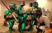 El disfraz de las Tortugas Ninja mutantes adolescentes