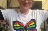 Pantalla de bajo costo imprime color en camisetas