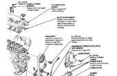 Reemplazo del motor bomba de agua y tensor de la polea (Honda D15B Civic).