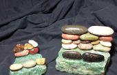 Tabla de piedra natural de la playa / celular teléfono titular y tarjetero!!!!