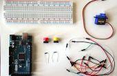 Arduino: Control de servos con botones