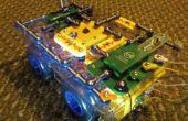 Baile danza Roverbot! Construir un Robot programable de presión circuitos luz activado bailando.