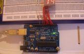 Temporizador de cuenta regresiva de Arduino 7 segmento