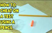 Cómo pasar un examen con un lápiz