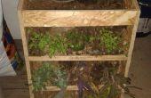 Jardín vertical y tiempo por Edison Intel