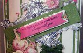 Cómo hacer sensacional Vintage marco Floral tarjeta
