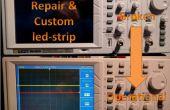 Reparación de luz de fondo / aduana tira led
