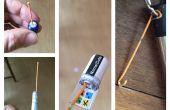 Nano-Cache DIY horquilla registro-Extractor