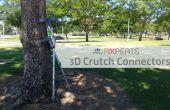 Conectores de muleta 3D
