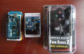 Arduino: Control de servos con controlador de PS2 (programa con Visuino)