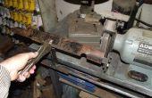 Cortacéspedes de césped cuchilla afilado de herramienta