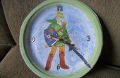 Pintado a mano de Zelda reloj