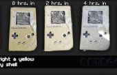 Retr0bright, cómo convertir un Gameboy amarillo blanco otra vez: manera fácil!