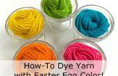 Cómo teñir hilo con los colores del huevo de Pascua