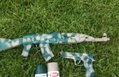 Pistola Camo para Airsoft y los juguetes
