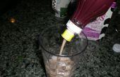 ¿Qué puedo hacer con una botella vacía de jarabe? Hacer leche con Chocolate!