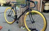 Restaurar y transformar una bici vieja en una Fixie elegante