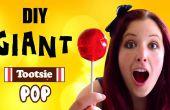 Gigante de Tootsie Pop y Tootsie Pop Pop anillo