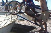 Conseguir una moto a bordo de un velero