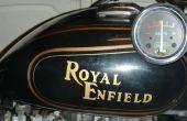 Montar un rectificador regulador japonés en un 12v AC/DC Royal Enfield Bullet