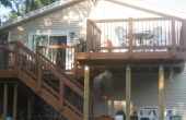 Dos niveles terraza y Patio