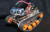 'Poco Tank' plataforma Robot Arduino/Picaxe/Tamiya