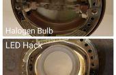 Hack de LED para sustituir la bombilla de la lámpara del halógeno