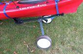 Convertir un carrito de Golf en Kayak Dolly