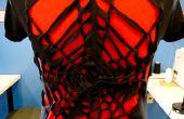 Diseño de la camiseta DIY: tela de araña - No cosa