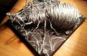 Gran araña con alambre