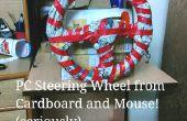 Volante PC y Gas pedales - usando solamente cartón y un ratón