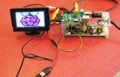 REGISTRO frambuesa Pi con monitor de coche