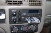 Acción estéreo coche radio fake out