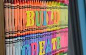 Lápiz art: decoración de la puerta de regreso a la escuela