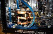 Den de peligro / Juegos PC refrigerado por agua de Nvidia triple SLI